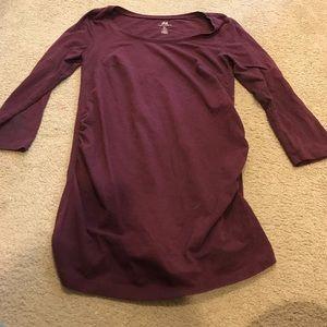 H&M maternity knit shirt